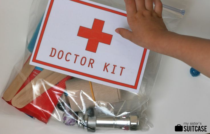 Check out this great DIY Toddler Doctor Kit today on the blog! Great gift idea for any toddler in your life!