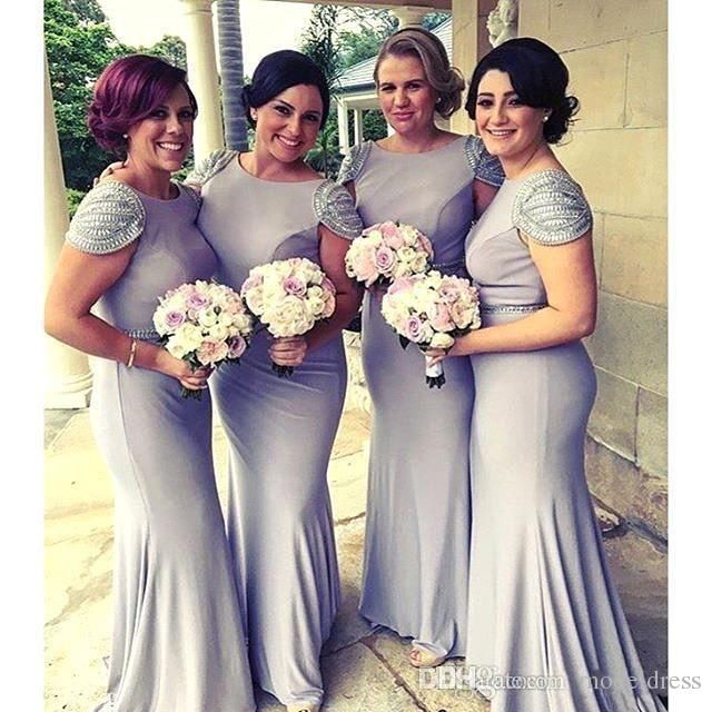 2017 New Lavender Mermaid Bridesmaid Dresses Cap Sleeve Beaded Sexy Backless Long Maid Of Honor Prom Wedding Guest Party Dresses Cheap Orange Bridesmaids Dresses Peacock Blue Bridesmaid Dresses From Modeldress, $86.27  Dhgate.Com