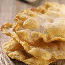 Recette Oreillettes croustillantes à la fleur d'oranger : Francine, recette de Oreillettes croustillantes à la fleur d'oranger pou...