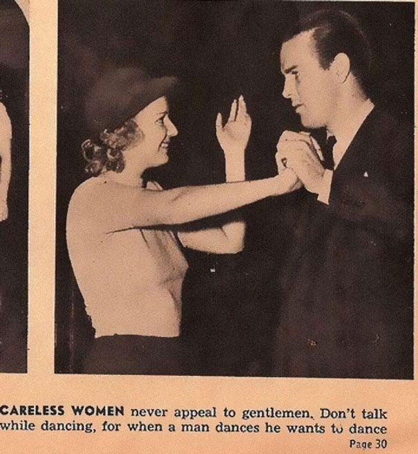 Dans les années 30, vous auriez reçu des conseils de séduction totalement sexistes… Et si drôles aujourd'hui