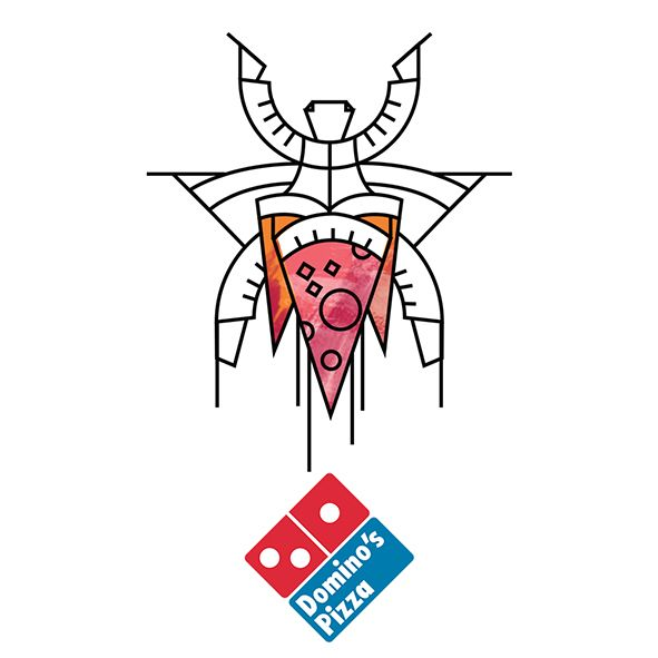 Domino's Pizza by Kickatomic