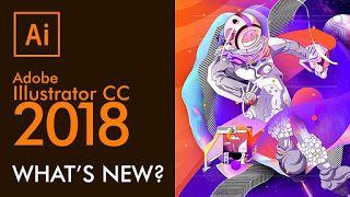 Adobe Illustrator CC 2018 Win/Mac Portable – Vector Design