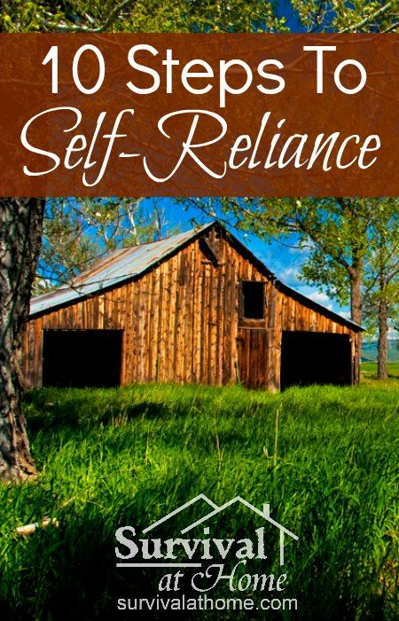 Steps to Self-Reliance » Survival at Home