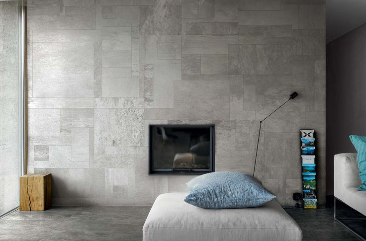 #collection 01 by Casamood is a porcelain stoneware surface for modern houses. Its particular hexagonal format creates extraordinary wall decorations.