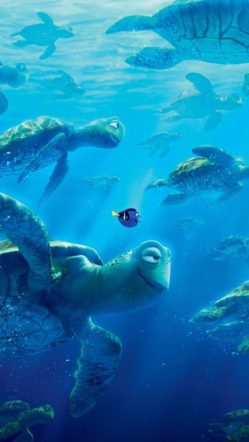 Finding Dory: Downloadable Wallpaper for iOS & Android Phones