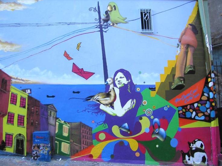 Valparaiso sus murales