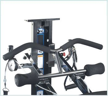 Total Gym® Wing Attachment The wing attachment is one of our most versatile accessories for your Total Gym. Attach to either top or bottom rails for upper and lower body exercises like: leg curl with straight arm lift, pull up, shoulder press, and more! Quick hitch-pin attachment method for convenient use.  For use on Total Gym models: 2000, 2200, 2500, 3000, 3000XL, XL, XLS, Electra, FIT #totalgym #upperbodyworkout #lowebodyworkout