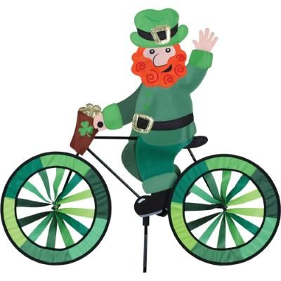 Leprechaun Bicycle Spinner From Just For Fun Flags. Leprechaun Bicycle  Spinner From Wind Garden By Premier Designs. This Jolly Leprechaun Design  Includes ...