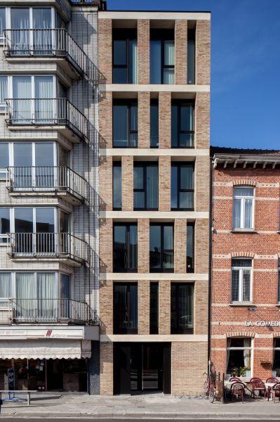 tentoonstellingslaan | gent - Projects - CAAN Architecten / Gent