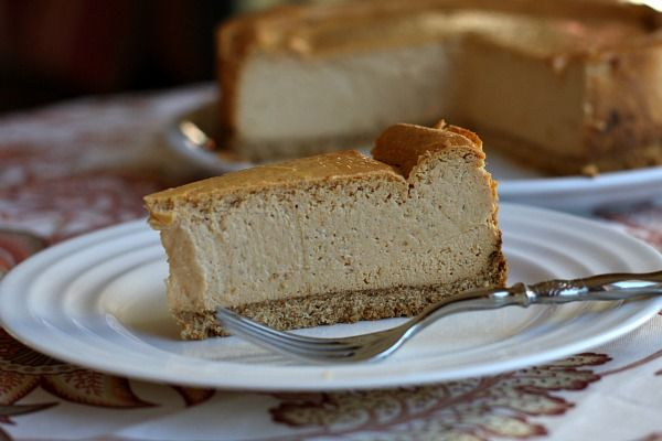 PERFECT PUMPKIN: This low-fat pumpkin cheesecake sounds amazing ... And easy as well. Now, if only I could find Nilla Wafers on sale!
