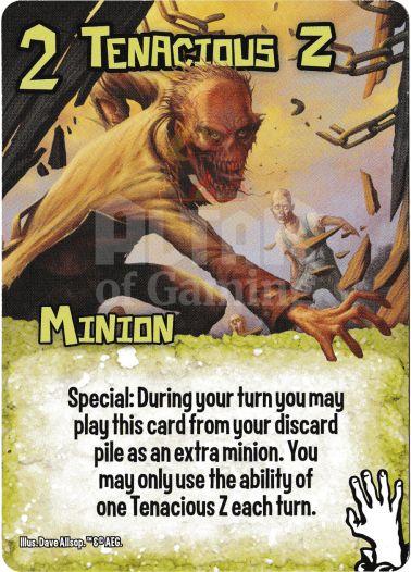Tenacious Z - Zombies - Smash Up Card | Altar of Gaming