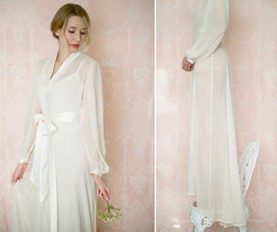 93 best Chiffon, silk and satin robes & dressing gowns. images on ...