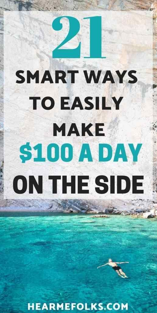 21 Smart Ways to Side Hustle and Make Extra Money Today – Work from home opportunities
