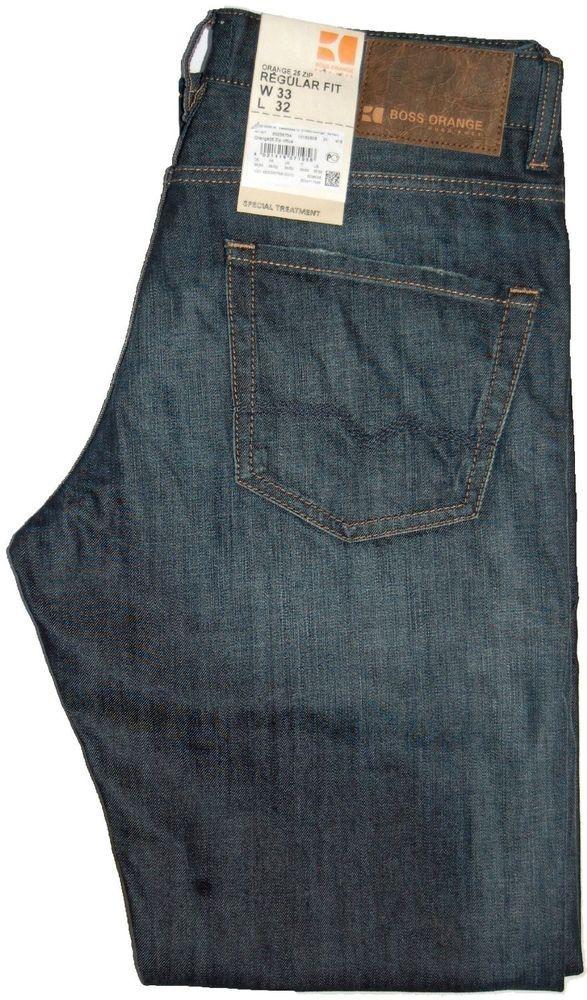 details about hugo boss orange 25 zip regular fit jeans. Black Bedroom Furniture Sets. Home Design Ideas