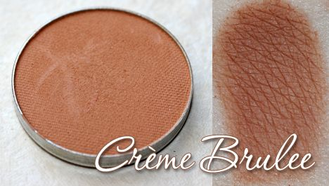 Makeup Geek Creme Brulee dupe for Mac Soft Brown-a medium sand color