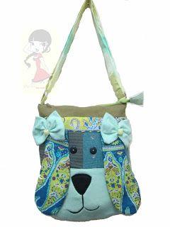 Tas handmade lucu dan unik yang menggambarkan karakter binatang dengan harga Rp 64.000 kode tas:003.   HP : 088801005134 / 087880958811 / Add PIN: 315BE3EC