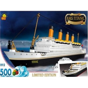 lego titanic instructions free