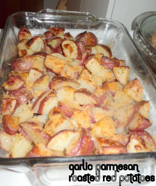 Garlic Parmesan roasted red potatoes   i swear i should be fat (savory ...