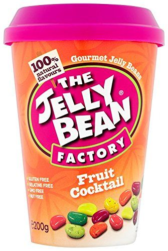 The Jelly Bean Factory Cup of Fruit Cocktail Jelly Beans 200 g