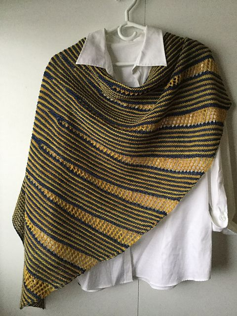 Ravelry: Swoop shawl pattern by Rosemary (Romi) Hill
