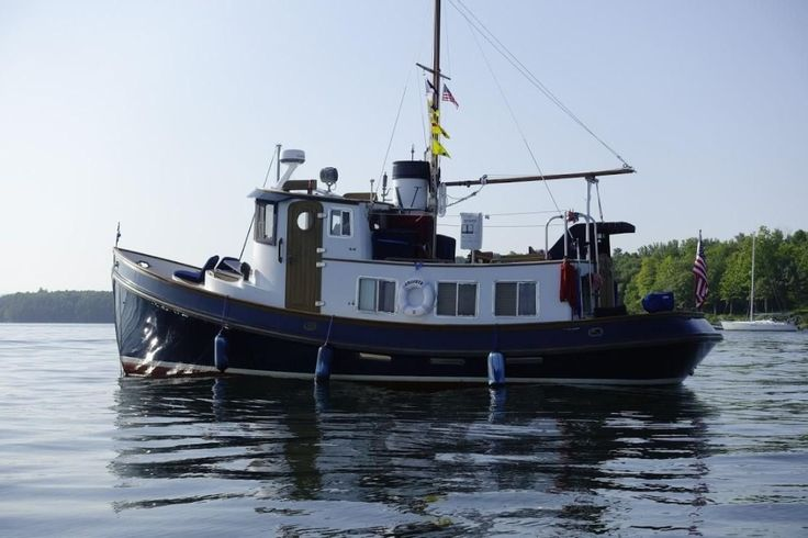 1984 Lord Nelson 37 Victory Tug in 2020 | Tug boats for ...