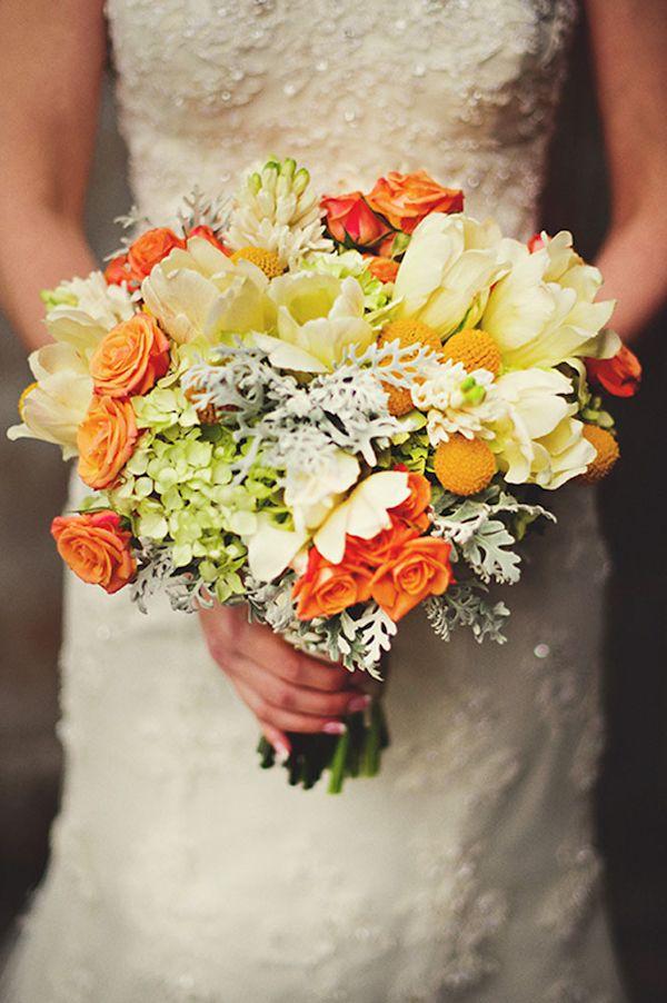 Букет, букет невесты с флер-д-оранжевом
