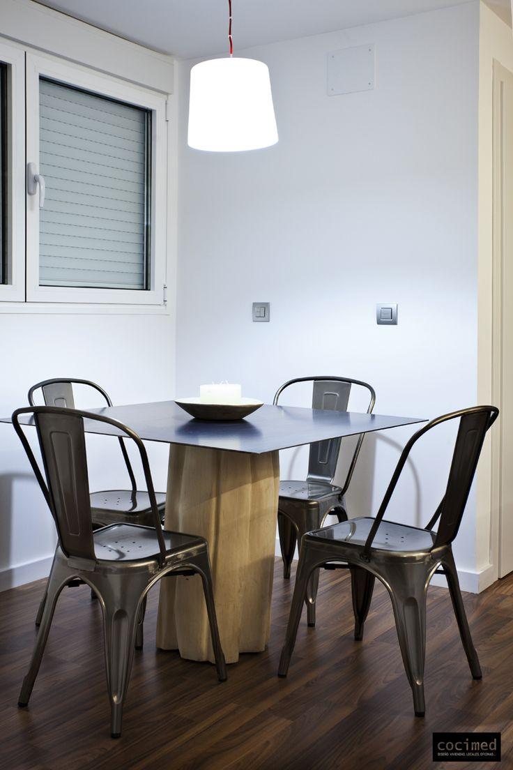 17 mejores ideas sobre sillas modernas de comedor en for Muebles imitacion diseno