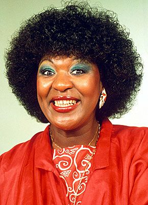 Rustie Lee is a Jamaican born English television personality, television chef, actress, singer and former politician. She first came to public attention for her appearances during the 80s on the morning television station TV-am.