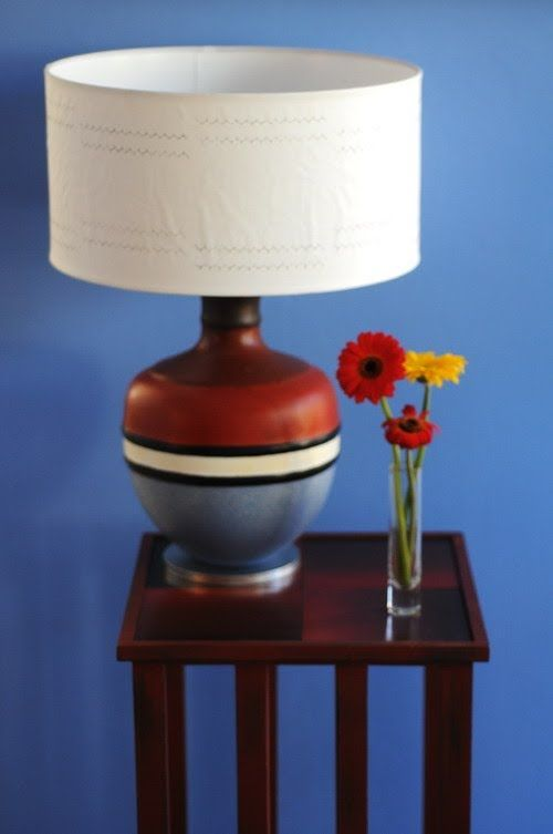 Pantalla base pintar un de Como lampara Acrilicos UzVjLqMpGS