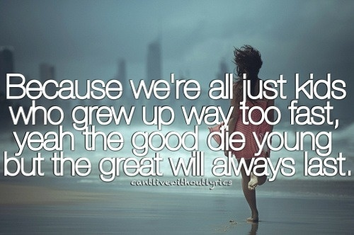 Such an amazing song!! Always makes me think of this past summer!!  <3