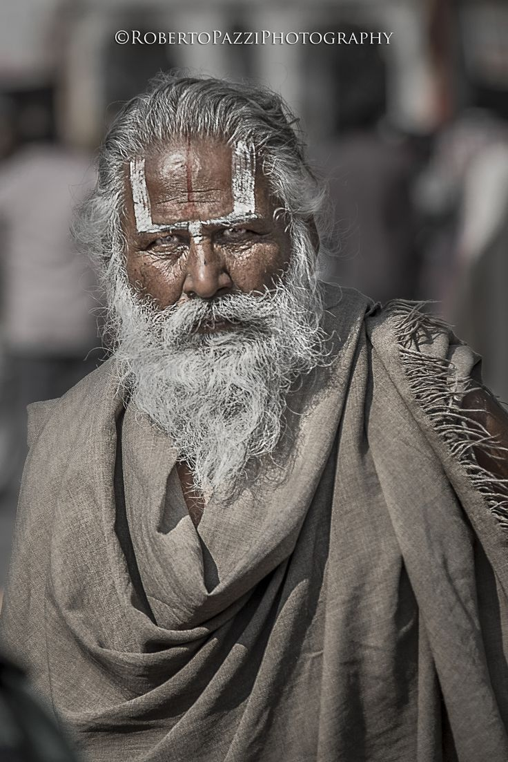 "Portrait of a sadhu in Jaipur (Rajasthan, India).  Visit http://robertopazziphotography.weebly.com, subcribe to the newsletter and download the ebook ""Streets of the World"" as welcome gift!  Web Site: http://robertopazziphotography.weebly.com/ Facebook: Roberto Pazzi Photography Instagram: Roberto_Pazzi_Photography"