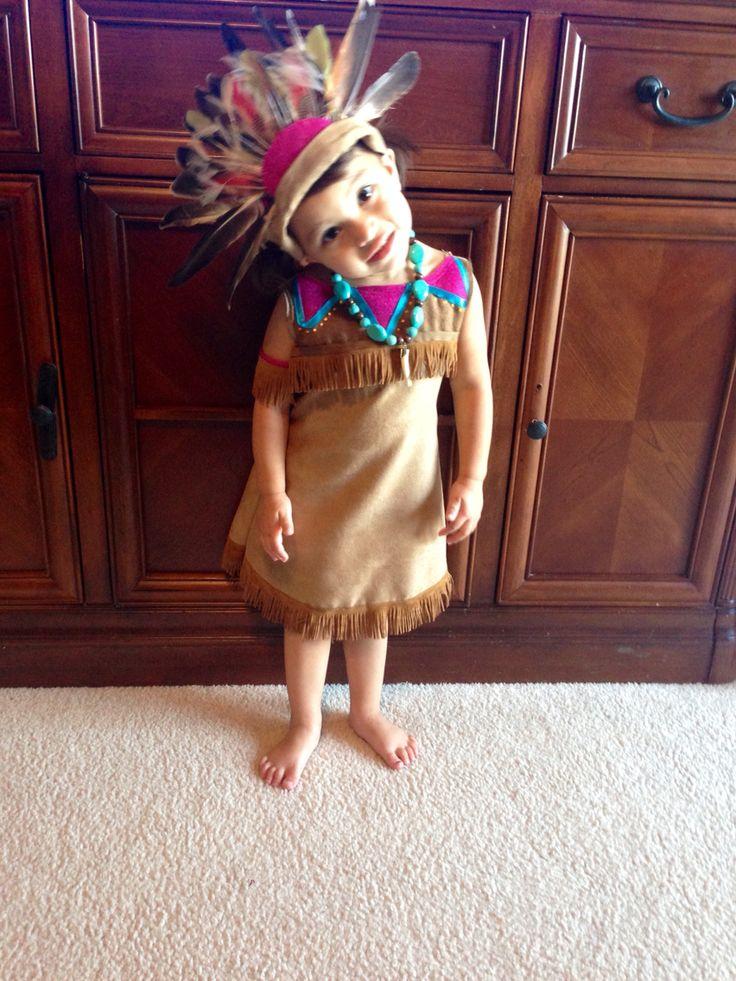 DIY Girls Indian costume!