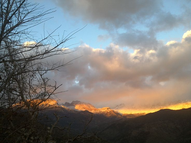 """sunset in the mountains - photo credit: """"Deer You Go"""""""