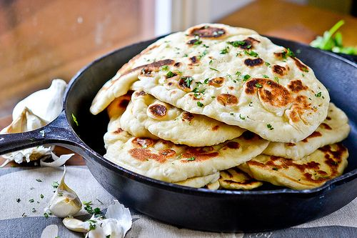 Homemade Naan (no kneading)