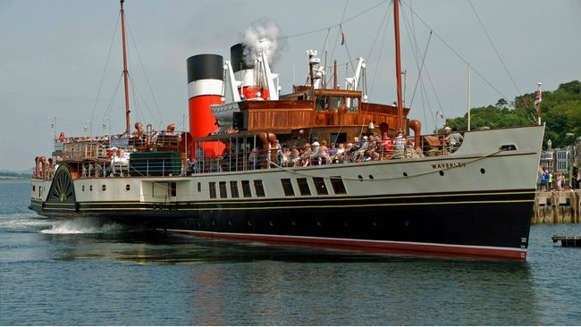 Waverley celebrates Ruby year with trip 'doon the watter'