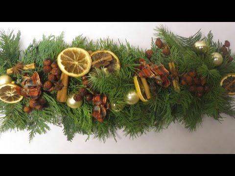 Weihnachtsdeko girlande basteln youtube deko for Youtube weihnachtsdeko