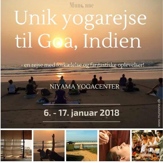 Har du lyst til at tage på en yogaferie til Nord Goa - Indien med 2 danske passionerede yogalærere, der sammen med det lokale personale på stedet, vil gøre hvad de kan, for at du kan få en uforglemmelig rejse, der er tryg, sund og fuld af forkælelse og fantastiske oplevelser.