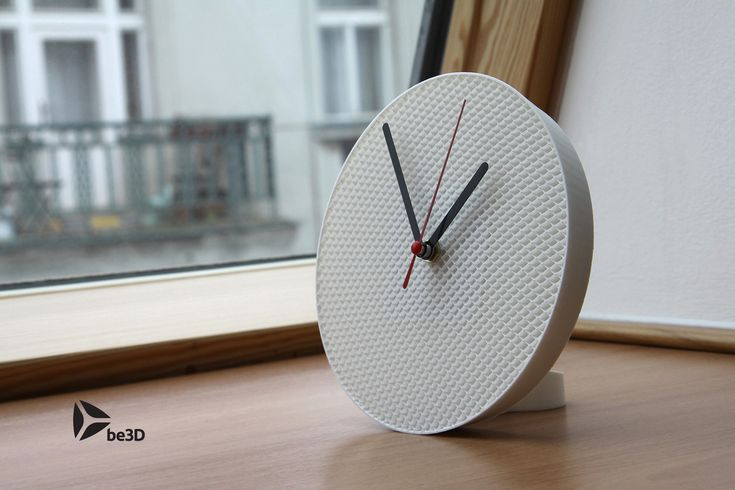 Structure Clock by be3D_printers.