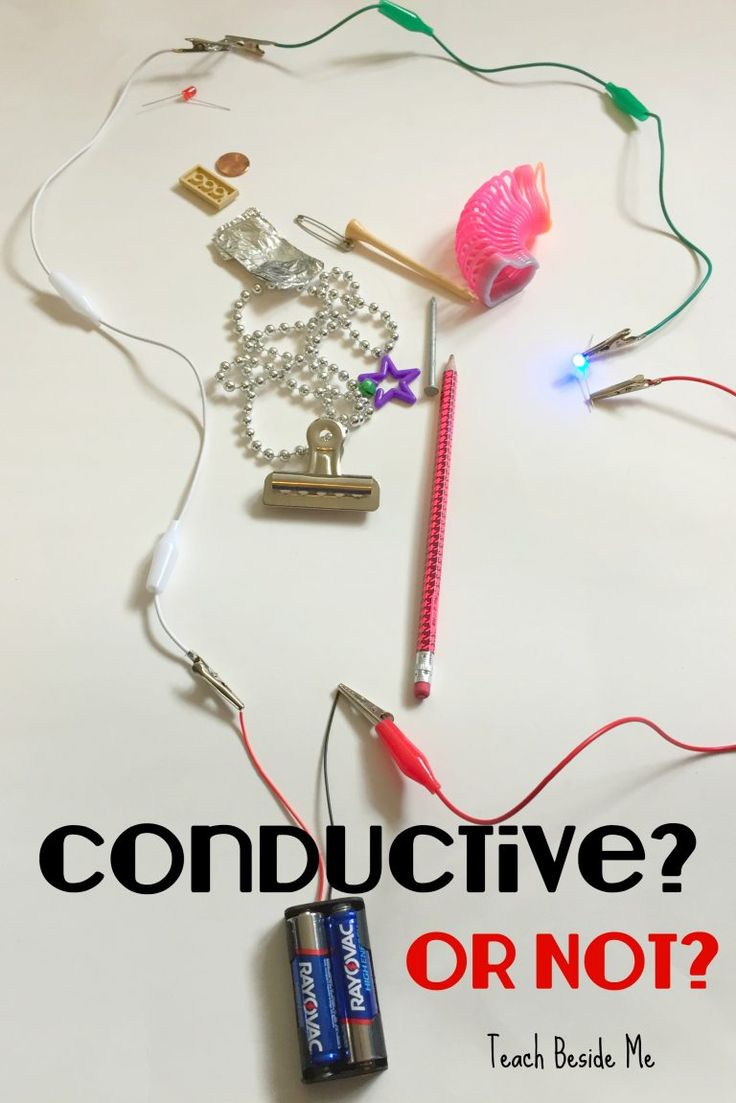 Conductive or Not? STEM conductivity experiment