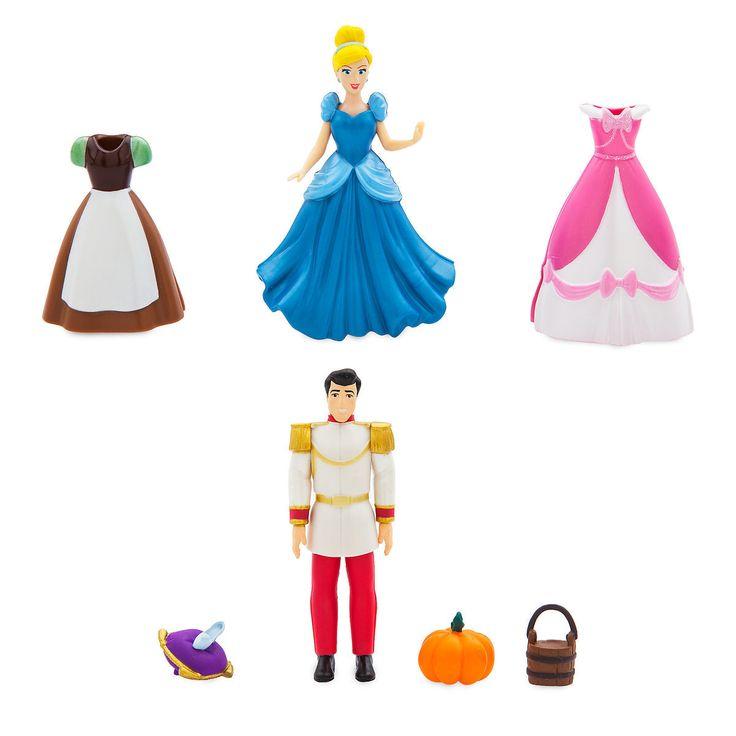 Cindrella Dress Up Figure Set