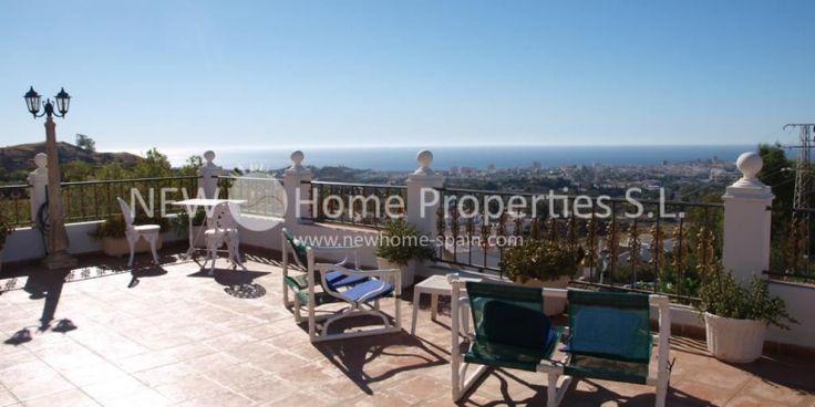 Villa in Mijas with great view - Costa del Sol - Ref 1114 - more under www.newhome-spain.com