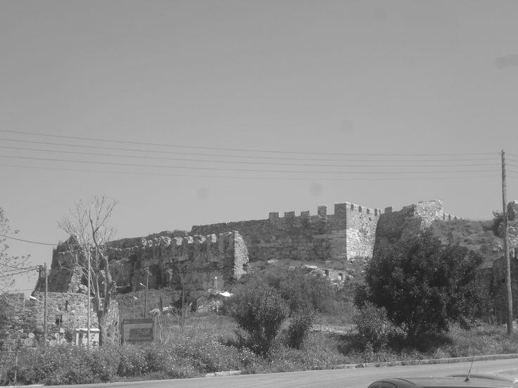 The castle of Mytilini, Greece.