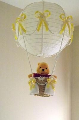 Hot Air Balloon Lamp/light shade with Winnie the Pooh,