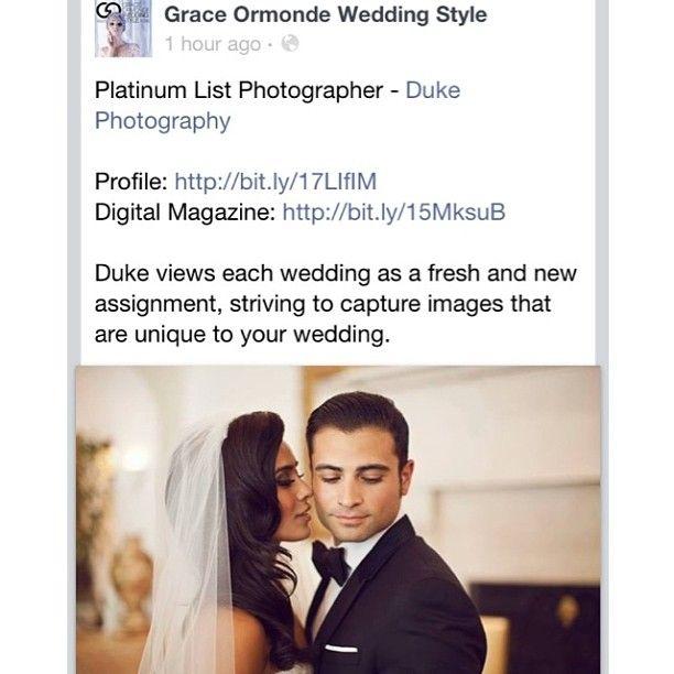 My favorite wedding picture on Grace Ormonde Wedding Style today thanks to the man himself @dukeimages! Thank you for so many beautiful photos I will forever cherish #dukeimages #graceormondeweddingstyle #platinumlistphotographer #mywedding #montagebh #montagebeverlyhills