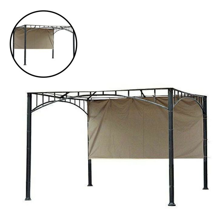 Gazebo Replacement Canopy Patio Outdoor Garden Cover Yard Sunshade 10 Ft. #Unbranded