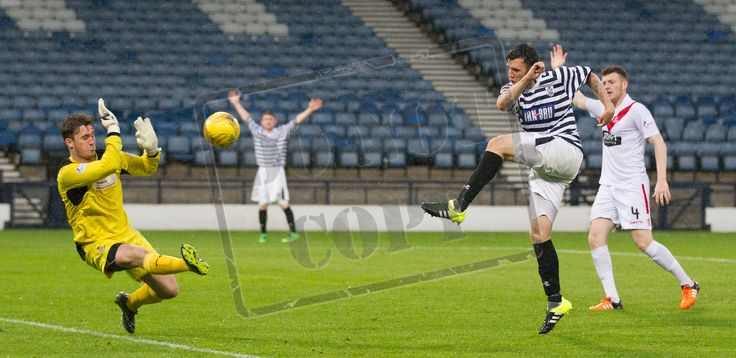 Queen's Park's Adam Cummin in action during the Betfred Cup game between Queen's Park and Airdrieonians.