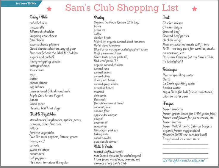 Sam S Club Food Aisle