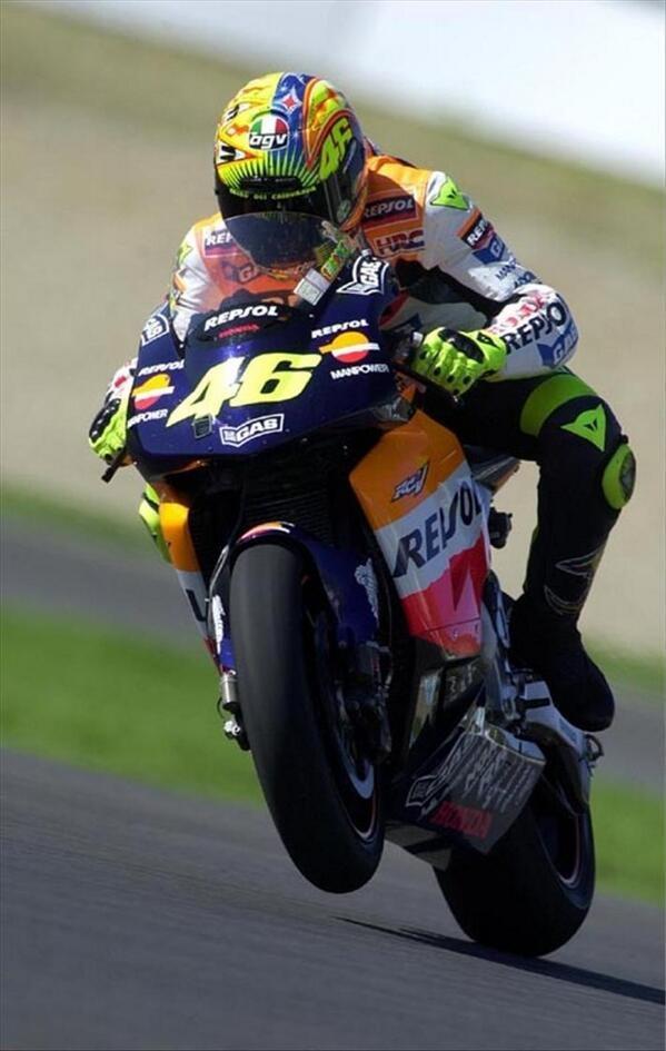 Valentino Rossi with Repsol Honda