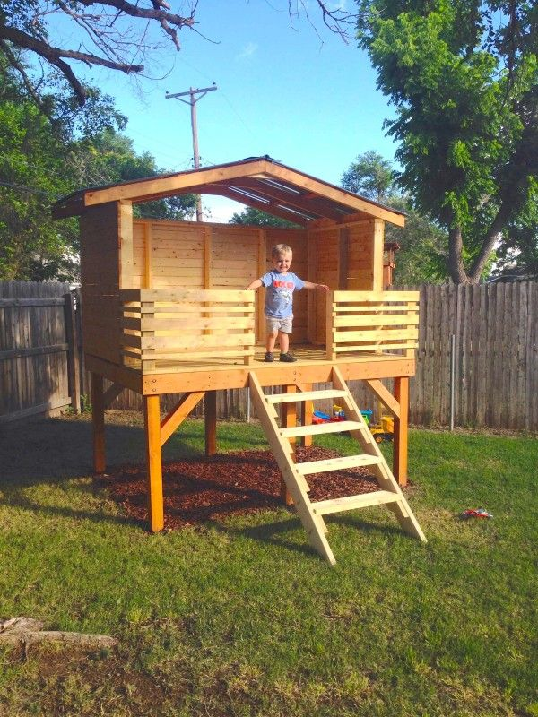 """A """"garden room"""" for the kids"""