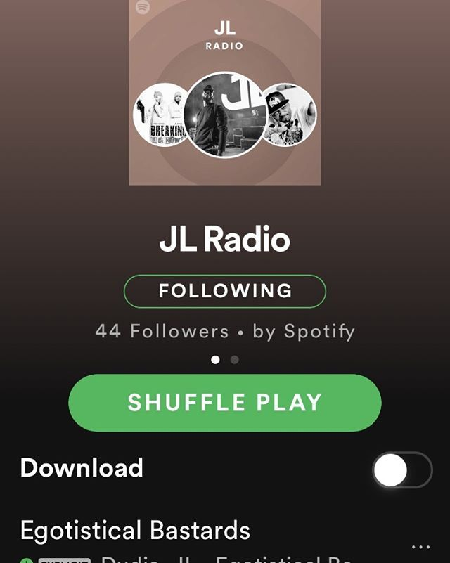 Go check out @jlbhood on Spotify and give his radio station